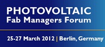8th PV Fab Managers Forum